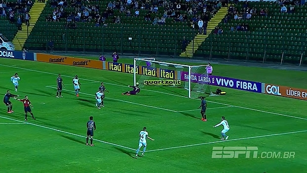 Brasileiro: Gol de Figueirense 0 x 1 Botafogo