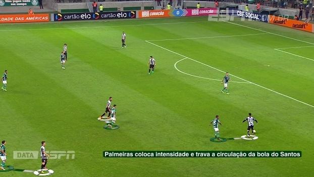 Pressão, intensidade e defesa desgarrada: DataESPN mostra momentos do Palmeiras de Cuca