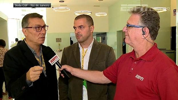 Na sede da CBF, Calçade e Zé Elias comentam congresso e importância do debate sobre futebol