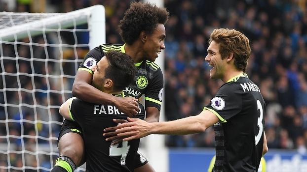 Premier League: Melhores momentos de Everton 0 x 3 Chelsea