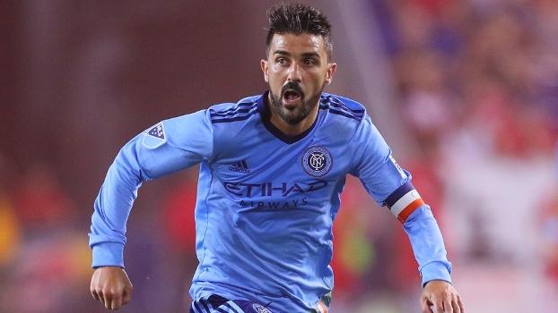 David Villa marca duas vezes e garante virada do New York City sobre o Seattle Sounders na MLS