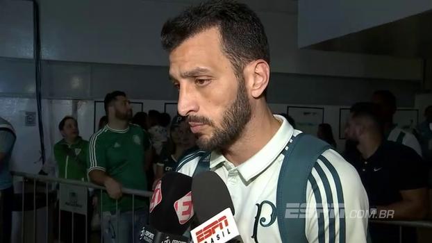 Dracena diz que Palmeiras tem que sonhar e elogia árbitro de vídeo, mas questiona profissionalização dos mesmos