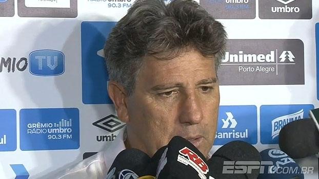 Renato Gaúcho aponta dificuldade de criação do Grêmio: 'Não jogamos tudo o que sabemos'