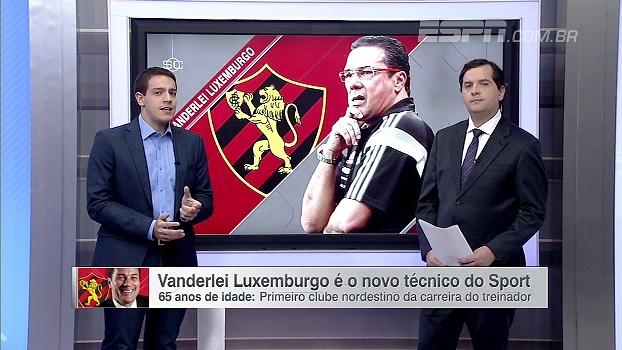 Rafa Oliveira analisa chegada de Luxemburgo: 'Sport não precisa de um nome para chamar atenção'