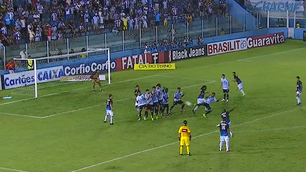 Assista aos gols da vitória por 2 a 1 do Londrina sobre o Paysandu