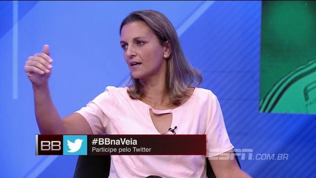 Ju Cabral exalta dupla de zaga do Bahia e destaca como time 'quis ficar com a bola': 'Fez um grande jogo'