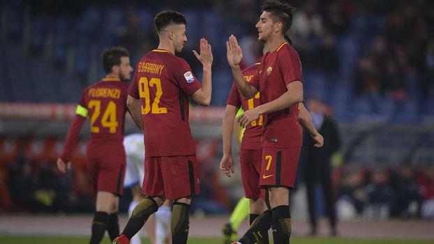 Veja os gols da vitória da Roma sobre o SPAL por 3 a 1 pelo Italiano