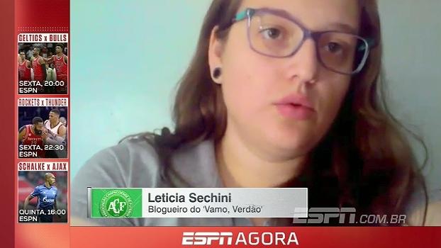 ESPN FC: Blogueira da Chape comemora título do turno do Catarinense
