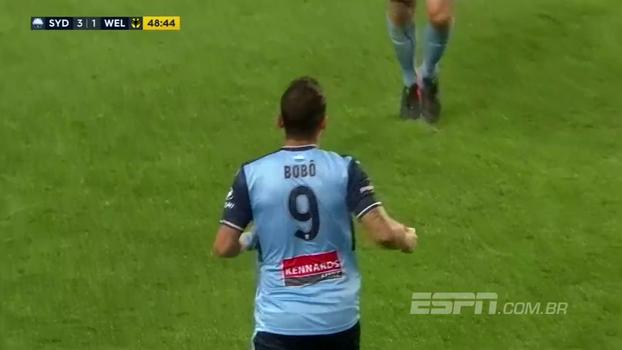 Ex-Corinthians, Cruzeiro e Grêmio, Bobô faz dois gols pelo Sydney FC na Austrália