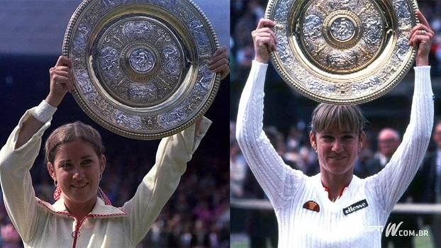 Grande nome do tênis, americana Chris Evert tem 18 títulos de Grand Slams