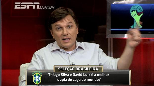 Melhor do mundo? Comentaristas analisam a dupla Thiago Silva e David Luiz