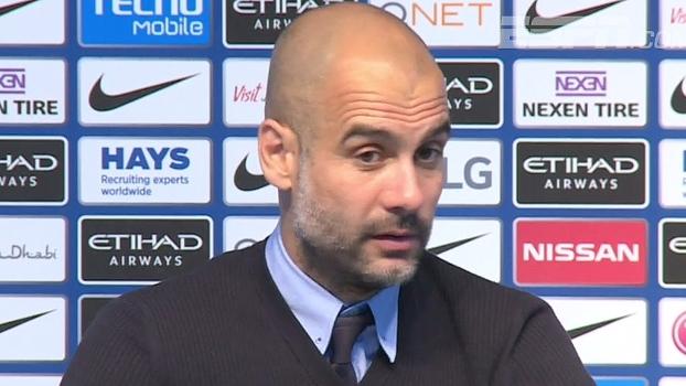 Guardiola: 'Acho que o Aguero pode ser um jogador melhor'