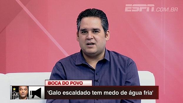 Bertozzi analisa partida de ida entre Cruzeiro x Atlético-MG e vê 'tudo em aberto' na volta