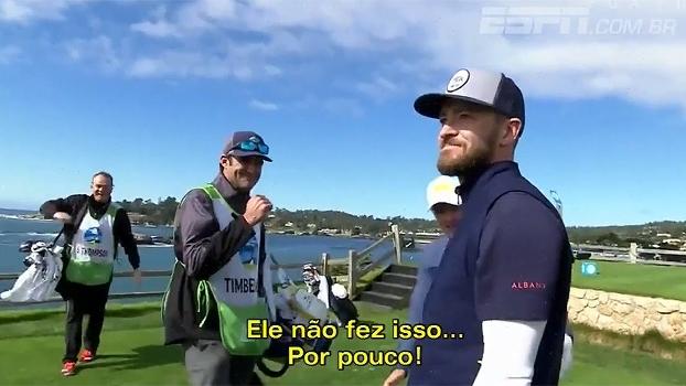 Justin Timberlake se arrisca no golfe e por pouco não faz jogada rara