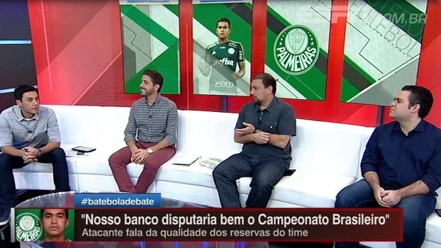 Banco do Palmeiras disputaria bem o Brasileiro? Bate-Bola analisa elenco alviverde