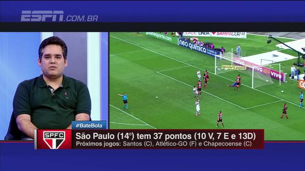 Para Bertozzi, Jucilei deu mais consistência ao meio-campo do São Paulo