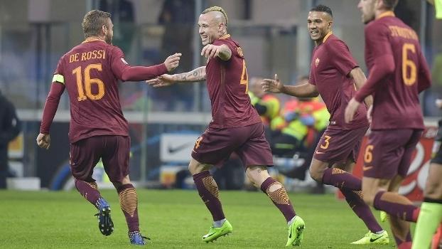 Italiano: Gols de Internazionale 1 x 3 Roma