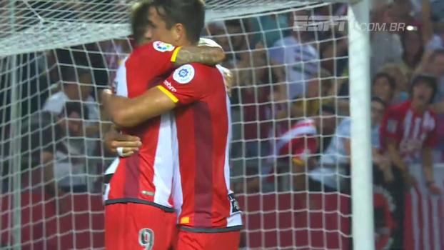Assista aos melhores momentos da vitória do Girona sobre o Malaga por 1 a 0!