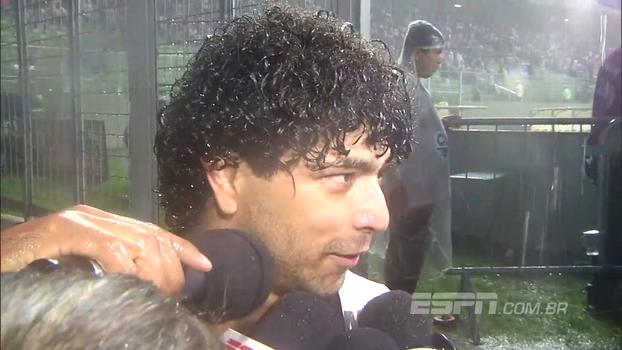 Luan credita vitória do Atlético-MG a partida de Otero: 'Bota tudo na conta dele'