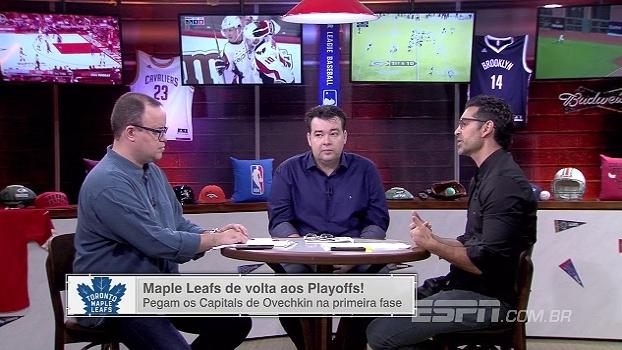 ESPN League analisa duelo entre Maple Leafs e Capitals nos playoffs da NHL