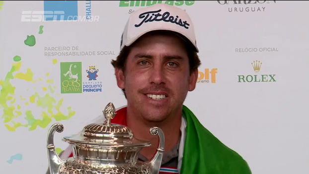 Rodolfo Cazaubón é campeão do Aberto do Brasil de golfe