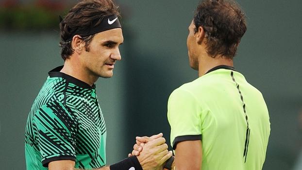 Veja lances de Rafael Nadal 0 x 2 Roger Federer