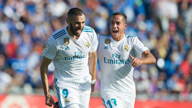 Veja os gols da vitória do Real Madrid sobre o Getafe por 2 a 1 por LaLiga!