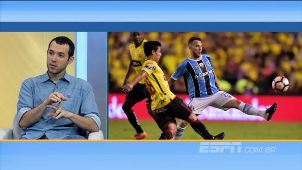 Barcelona supera Grêmio nos números, mas Hofman destaca eficiência do Grêmio