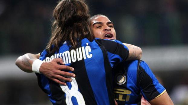 Para matar a saudade: relembre momentos da dupla Ibrahimovic e Adriano na Internazionale