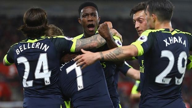 Assista aos gols de Southampton 0 x 2 Arsenal
