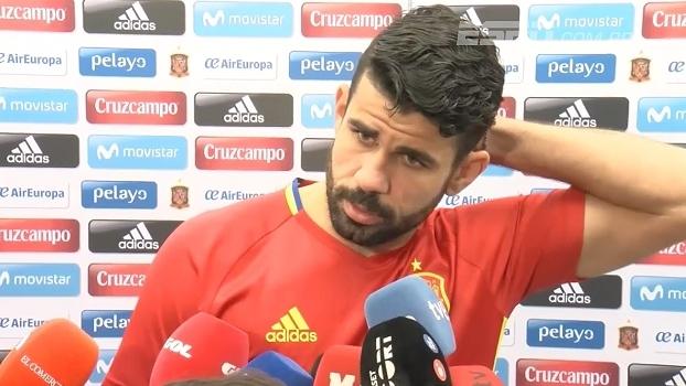 'Espanhol' Diego Costa fala de sua adaptação na seleção: 'Estou mais confortável agora'