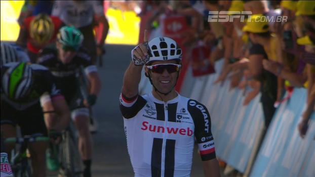 Com arrancada no fim, Michael Matthews vence 14ª etapa do Tour de France
