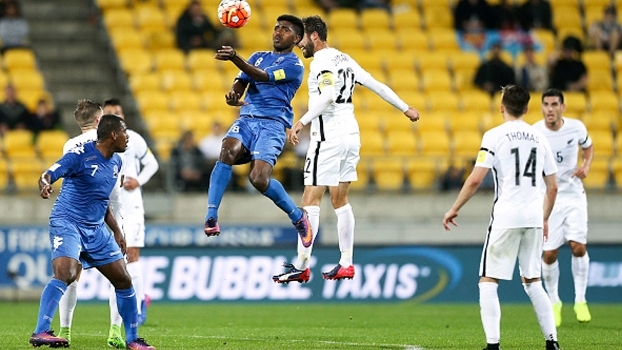 Thomas faz dois, Nova Zelândia vence Fiji e dispara no Grupo A das Eliminatórias da Oceania