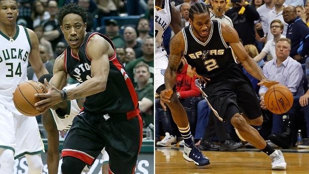 Domínio de craques e classificação de Spurs e Raptors; veja o resumo da NBA desta quinta