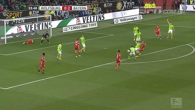 Tempo real: Bayern pressiona, mas a defesa do Wolfsburg consegue impedir o terceiro gol