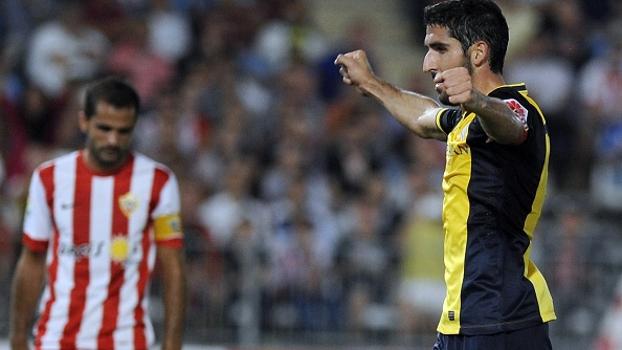 Veja o gol de Alemería 0 x 1 Atlético de Madri
