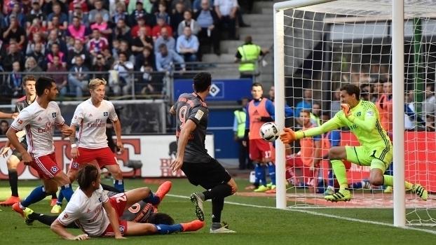 Veja o gol da vitória do Bayern de Munique sobre o Hamburgo por 1 a 0 pelo Campeonato Alemão