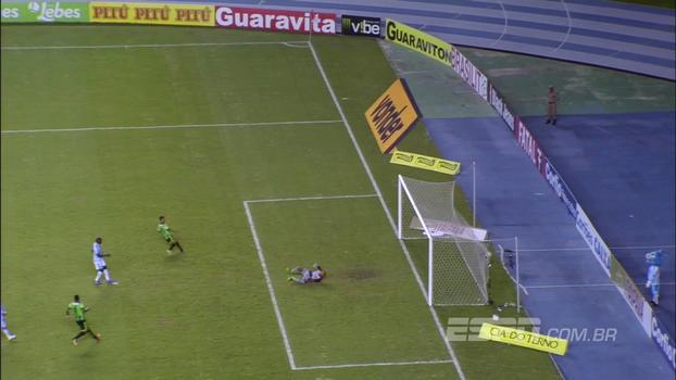 Assista ao gol de Paysandu 0 x 1 América-MG