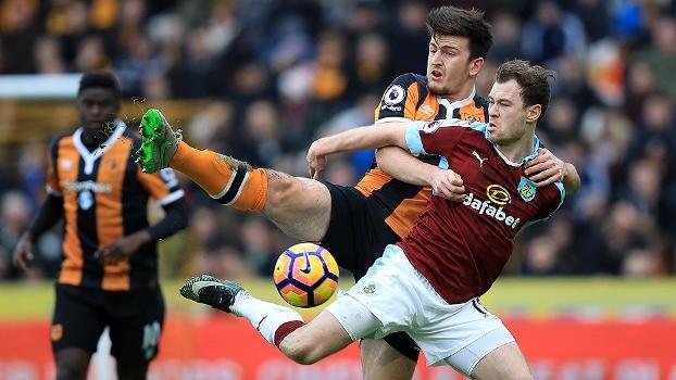 Assista aos gols do empate entre Hull City e Burnley por 1 a 1