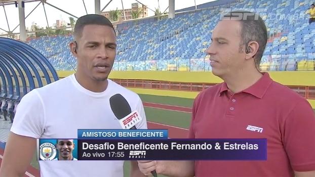 Fernando fala sobre expectativa do City em 2ª temporada com Guardiola