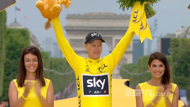 Com direito a champanhe, Froome comemora tetra do Tour de France; Groenewegen vence última etapa