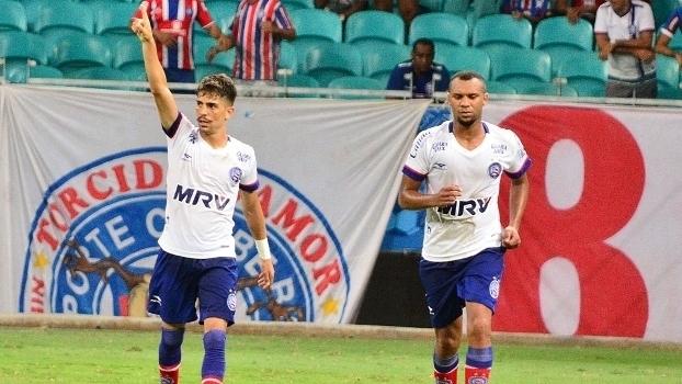 b1519c8ddd8fe Baiano - semifinal (volta)  Gols de Bahia 2 x 1 Fluminense de Feira ...