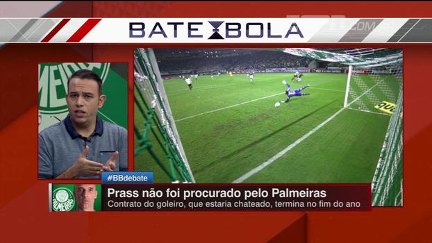 Nicola diz que Prass não foi procurado para renovar  Edu   Clubes poderiam  valorizar f7773a8321925