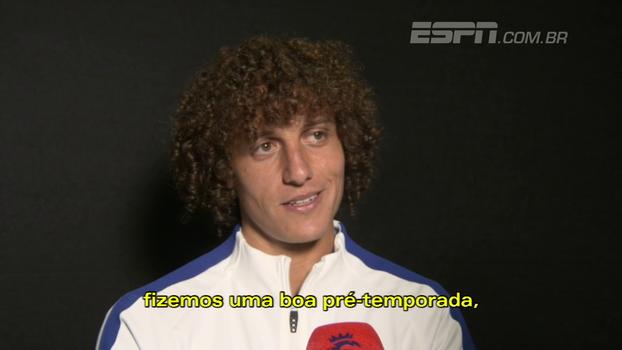 David Luiz fala de expectativa para nova temporada e elogia novas contratações no Chelsea