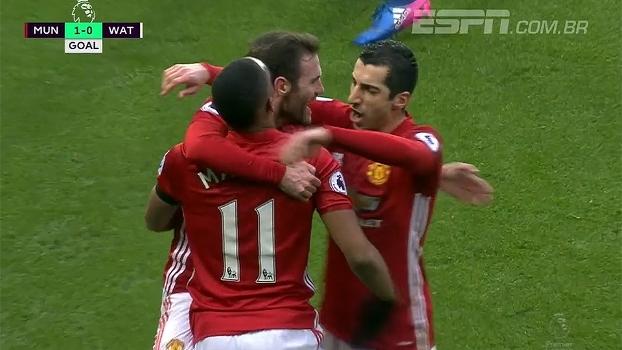 Premier League: Gols de Manchester United 2 x 0 Watford