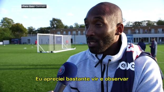 Após visita ao PSG, Kobe Bryant se encanta: 'Saio extremamente impressionado'