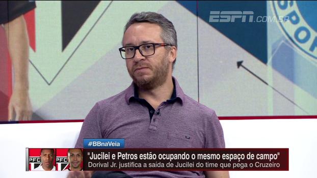 Maurício Barros se diz surpreso com Jucilei no banco e fala: 'O problema principal do São Paulo está na zaga'
