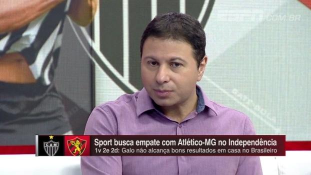 Melhor campanha da Libertadores e uma das piores do Brasileiro; Marra analisa instabilidade do Atlético-MG