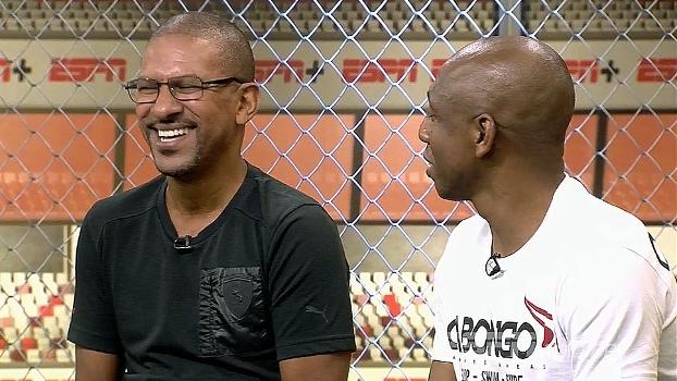No Resenha ESPN, Amaral revela quem é seu 'ídolo': 'Dejalminha'