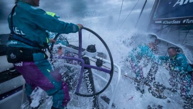 Martine Grael disputa a Volvo Ocean Race, Volta ao Mundo de vela